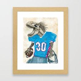 Quarterback Framed Art Print