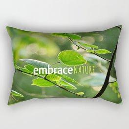 Embrace Nature Rectangular Pillow