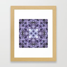 Inverse Fern Reflection Framed Art Print
