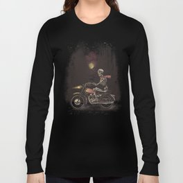 Death Rides in the Night Long Sleeve T-shirt