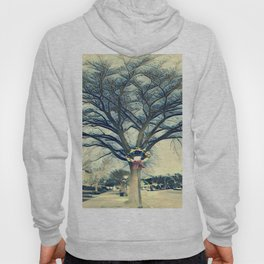 In Front Of The Tree Hoody