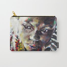 Reverie - Ethnic African portrait Carry-All Pouch