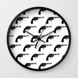 Revolvers Wall Clock