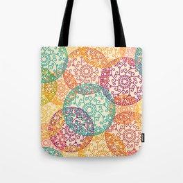Indian pattern Tote Bag