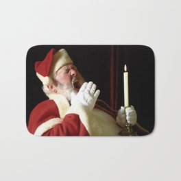 't was the night before Christmas... Bath Mat