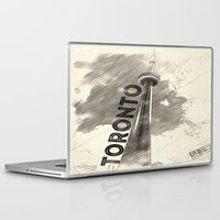 toronto Laptop & iPad Skins featuring Toronto  by Crystal