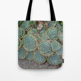 Pattern Green Tote Bag