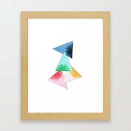 PALM4 Framed Art Print