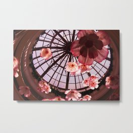 Flower Dome Metal Print