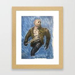 Friday the 13th, Series 1 Framed Art Print