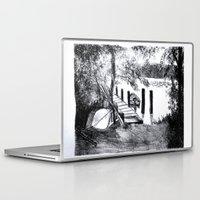 virginia Laptop & iPad Skins featuring Virginia by Caroline Marks