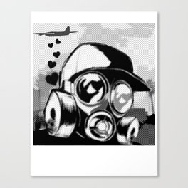 Luv Is In the Air... Canvas Print