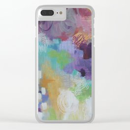 Playful Minds Clear iPhone Case