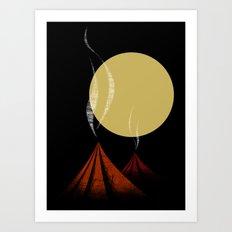 VULCANOS Art Print