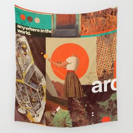 Archival World Wall Tapestry