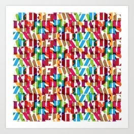 Letterform Fitting Art Print