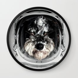 Buster Astro Dog Wall Clock