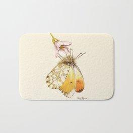 Aurorafalter butterfly Bath Mat