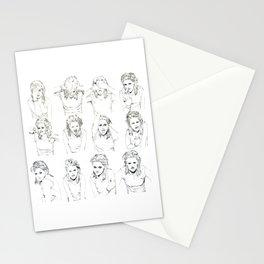 Kristen Stewart Sketches Stationery Cards