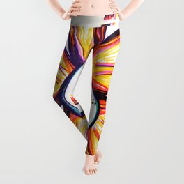 """What's A Day Even?"" Flowerkid Leggings"