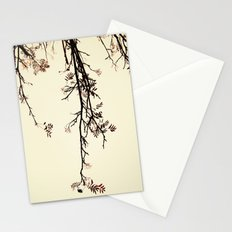 Delicate like rain Stationery Cards