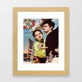 Lana Rey - NFR Framed Art Print