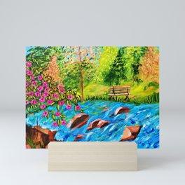 Creekside Beauty Mini Art Print