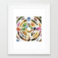 eternal sunshine Framed Art Prints featuring Eternal Sunshine by Kieran Sperring