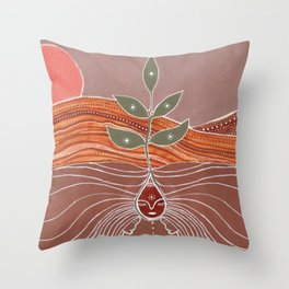 Sprout Up Another Vision Throw Pillow