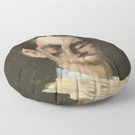 Ramon Casas i Carbó - Self-portrait Floor Pillow