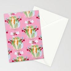Venus rising pattern Stationery Cards