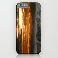 Winter Shorebreak at Sunset iPhone 6s Slim Case