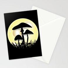 Mushrooms In Moonlight Stationery Cards