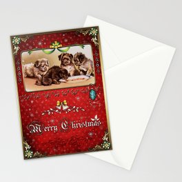 Christmas Vintage 129 Stationery Cards