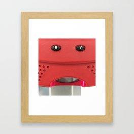 B-C-ing you! Framed Art Print