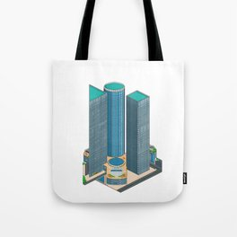 Tel Aviv Pixel Art Collection 1 Tote Bag