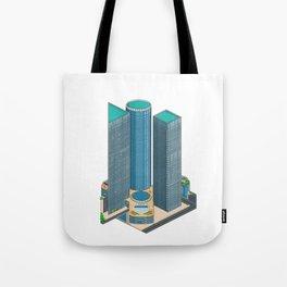 Tel Aviv Pixel Art Collection 1 Tote Bag