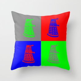 Doctor Who - Daleks Throw Pillow