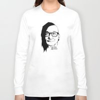 murray Long Sleeve T-shirts featuring Skrill Murray by Ludwig Van Bacon