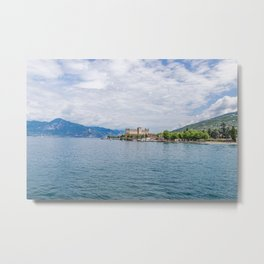 Castle by the lake Metal Print