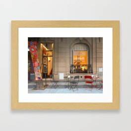 In Bocca al Lupo, Buenos Aires Framed Art Print