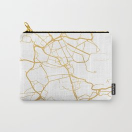 STOCKHOLM SWEDEN CITY STREET MAP ART Carry-All Pouch