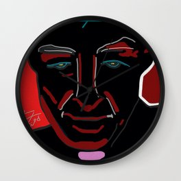 DEATH, DESTROYER OF WORLDS: PORTRAIT Wall Clock