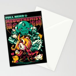 Full Neko Meowchemist Stationery Cards