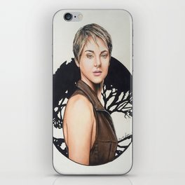 The Divergent Series: Insurgent - Tris | Drawing iPhone Skin