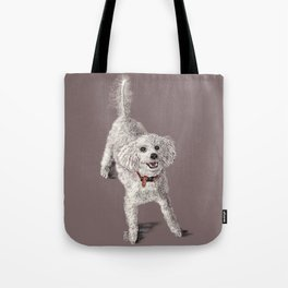 Sam the Poodle Tote Bag