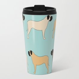 Mastiff Pattern Travel Mug