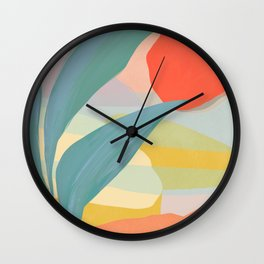 Shapes and Layers no.33 Wall Clock