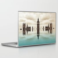 political Laptop & iPad Skins featuring Political Fractions by Shalisa Photography
