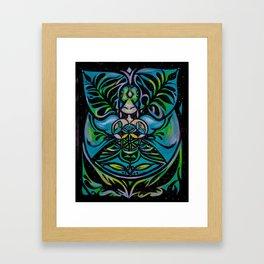 foxes and fairy dust Framed Art Print